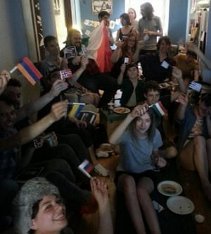 Eurovision party in Montreal 2014