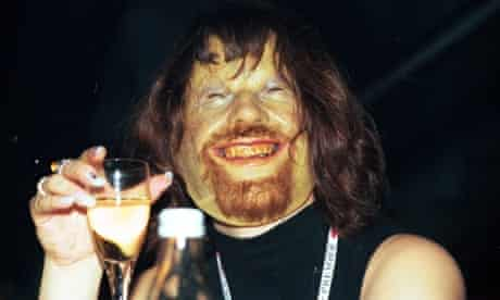 Aphex Twin at the NME Brat Awards in London.