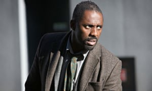 Idris Elba, from the TV show Luther