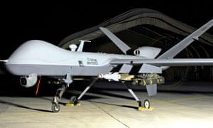 British Reaper drone