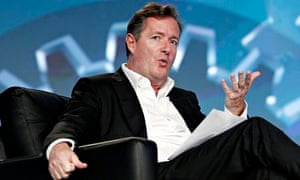 CNN's Piers Morgan speaks during PROMAXBDA 2013 at JW Marriott Los Angeles at L.A.