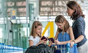 Passport panic … many parents, especially women, do not share their child's surname.