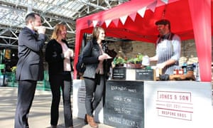 Local Motive Markets at Edinburgh Waverley station