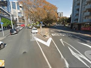 Google Street View Wakefield Street Auckland