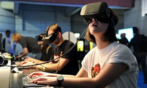 The Oculus Rift headset has already led to the virtual recreation of mundane supermarket stores. Kar