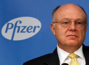 Ian Read, chief executive officer of Pfizer.