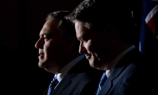 Joe Hockey and Mathias Cormann: budget 2014