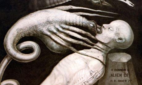 Sci-fi surrealist HR Giger, creator of Alien visions, dies