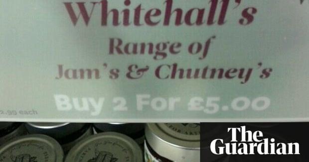 Bad grammar: rogue apostrophes and bizarre spelling - in ...