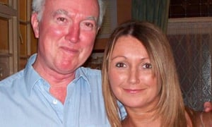 Claudia Lawrence pictured with her father Peter. She disappeared in March 2009