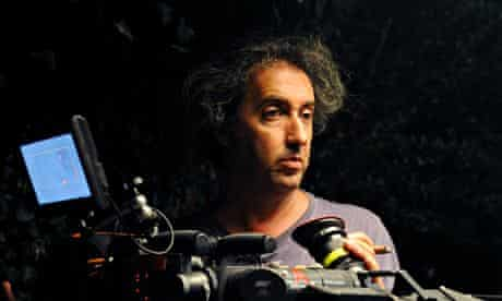 Paolo Sorrentino during the filming of The Great Beauty.