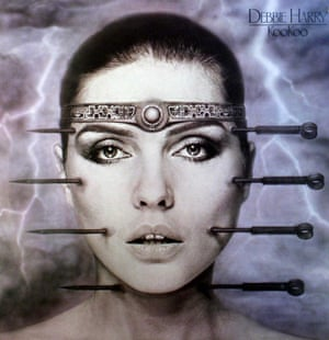 The cover of the 1981 album KooKoo by Debbie Harry, designed by HR Giger.