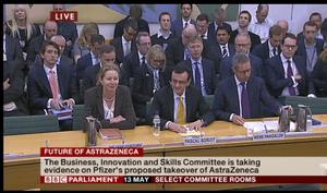 AstraZeneca at BIS committee