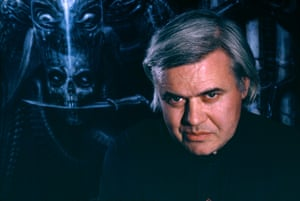 HR Giger in the 1980s