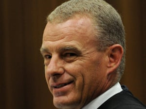 Prosecutor Gerrie Nel brings his application to have Oscar Pistorius referred for mental health evaluation.