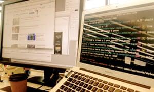 Sass linting on a Guardian developer's laptop
