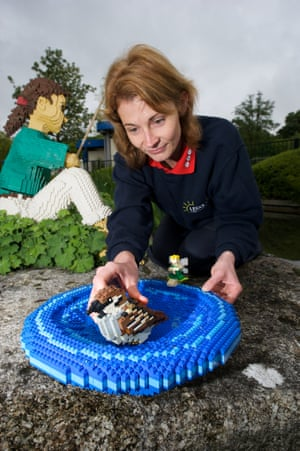 A new wildlife garden featuring unique habitats made from hundreds of Lego bricks is opening at the Legoland Windsor Resort today to mark the first anniversary of the RSPB's Giving Nature a Home Campaign