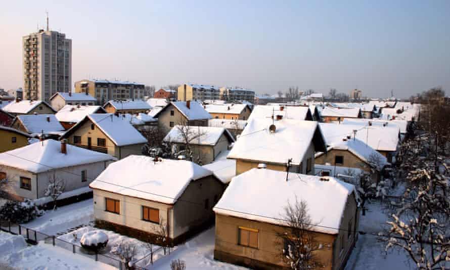 The city of Brcko in Bosnia-Herzegovina