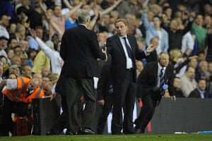 Tottenham managers: In Harry Redknapp's first full season in charge, Spurs reached the Champion