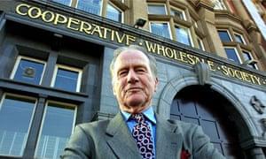 former Co-op chief executive Sir Graham Melmoth