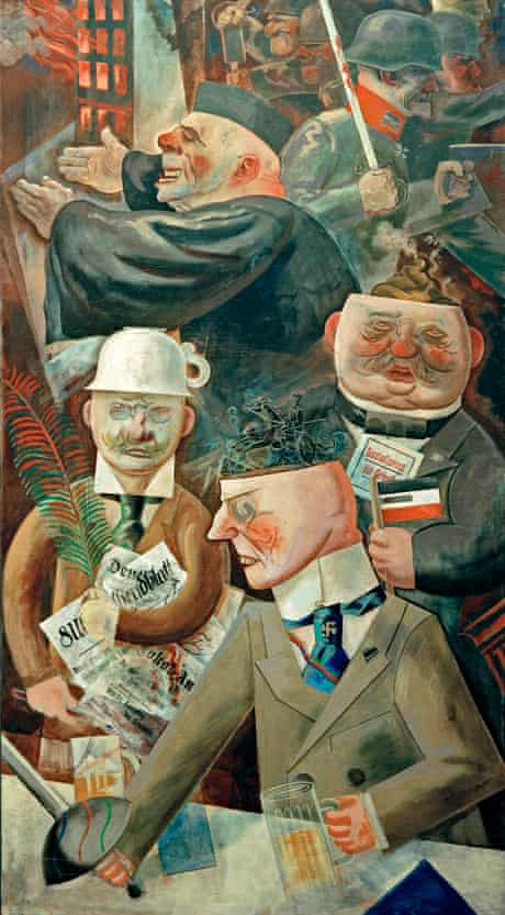 The First World War In German Art Otto Dix S First Hand Visions Of Horror Art The Guardian