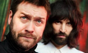 Eez-Eh does it: Tom Meighan and Sergio Pizzorno.