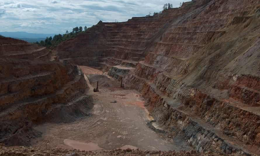 The Entre Mares mine in Honduras, one of 22 large-scale mining projects in Latin America featured in a report on Canadian companies presented to the Inter-American Commission on Human Rights.