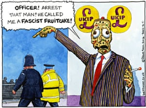 14.05.14: Steve Bell on the Ukip tweet and the police