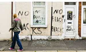 Racist attack on a house in Belfast
