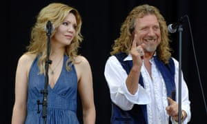 Alison Krauss and Robert Plant perform as Robert Plant and Alison Krauss