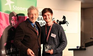 Michael Young and Sir Ian McKellen