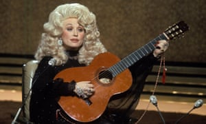 Dolly Parton on The Russell Harty Show in 1977.