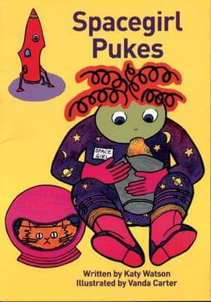 LGBT picture books: Spacegirl pukes
