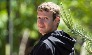 Mark Zuckerberg in a hoodie. Who'd have thought?