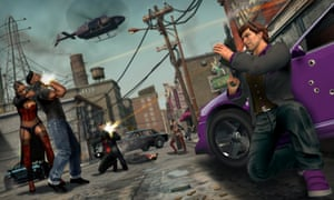 Saints Row The Third is one of the first games in Humble Bundle's 14-day promotion.