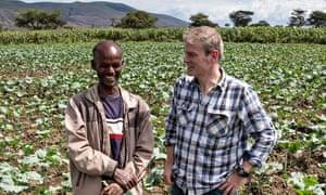 Mark Haddon in Africa