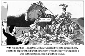 Peter Duggan S Artoon Floating A Theory About The Raft Of The