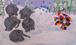 Elmer : 3 Elmer snow