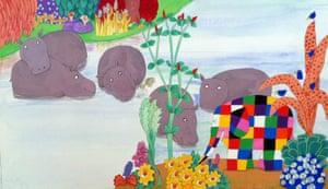 Elmer : 7. Elmer and the hippos