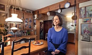 Claudia Roden's kitchen.