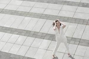 original observer: White fashion