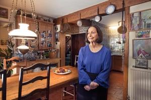 original observer: Claudia Roden in her kitchen
