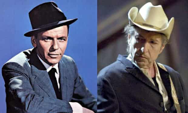 Sinatra and Dylan