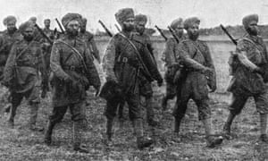 Sikh soldiers 1914