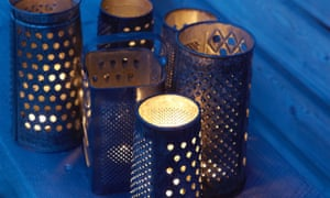 Re-found: cheese grater lights