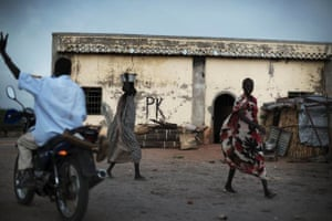 Leer, Unity State, South Sudan: most houses were burned in the clashes between the governent soliders and the rebels.