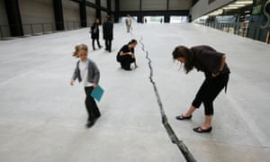'Shibboleth', by Colombian artist Doris Salcedo at Tate Modern in 2007. The ECJ ruling on data privacy has split opinion in the same way.