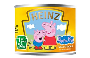 Heinz pasta shapes were not the type of food the original five-a-day campaign had in mind.
