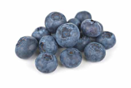 Just how many blueberries make up a portion?