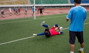 Ri Myong-guk footballer for Pyongyang FC